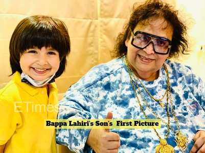 Bappi Da meets grandson as he returns home