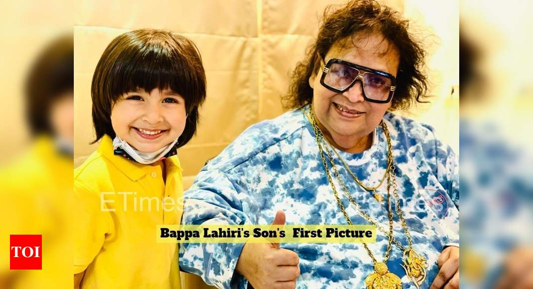Exclusive! Back home from hospital, Bappi Lahiri meets his grandson Krrish after 18 months – Times of India