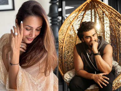 Malaika Arora showing off her stylish ring sparks rumours of her engagement with Arjun Kapoor!