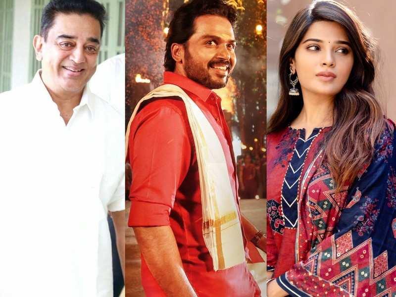 Tamil New Year: Kamal Haasan, Karthi, Aathmika, and other Kollywood celebs extend their festive wishes