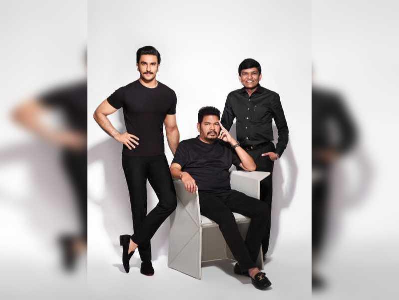 Ranveer Singh and filmmaker Shankar join hands for the remake of 'Anniyan'