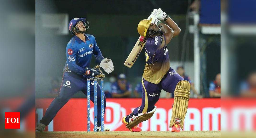 IPL 2021: Kolkata will learn from Mumbai heartbreak, says Andre Russell | Cricket News – Times of India