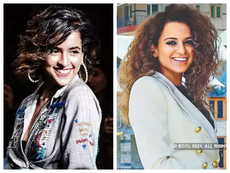 Sanya Malhotra reveals she had a big smile on her face when Kangana Ranaut praised her for her performance, says it meant a lot to her