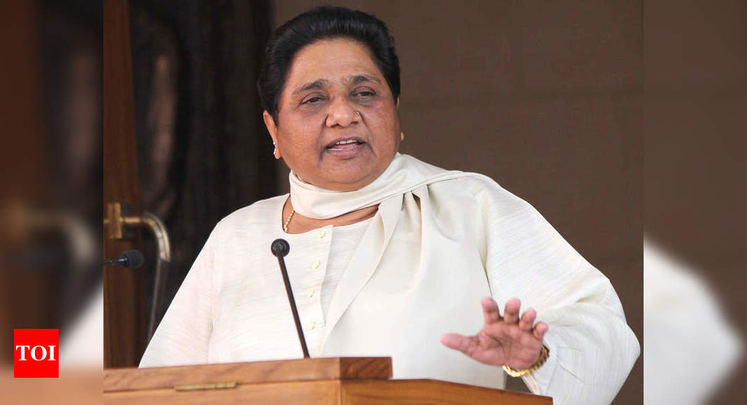 Give free Covid-19 vaccine to poor, needy: Mayawati to government | India News – Times of India