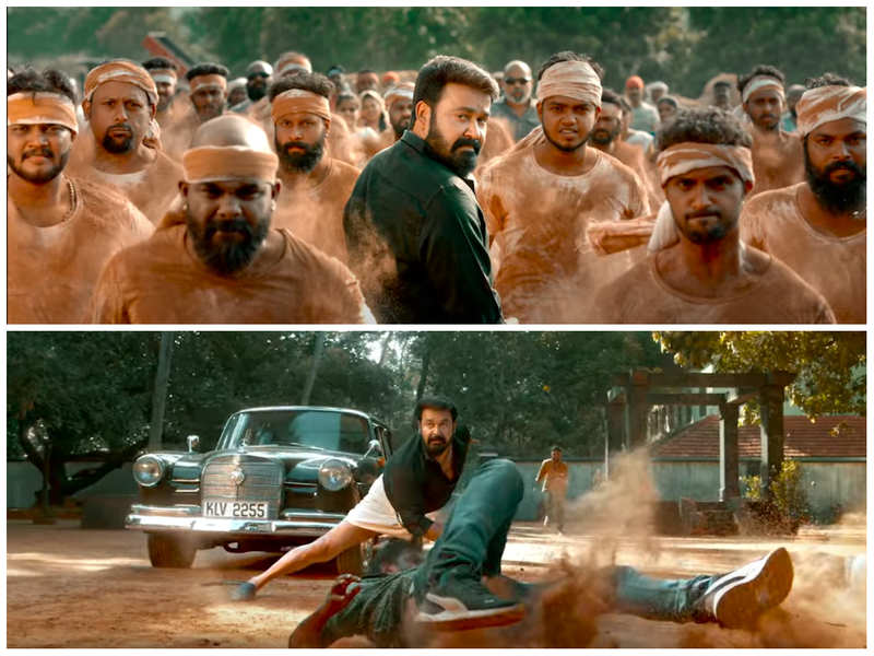 'Aaraattu' Teaser: Mohanlal's punch-packed dialogues with stylish action sequences will impress you