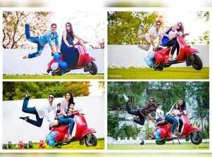 Allu Arjun and Sneha Reddy recreate an adorable photoshoot through the years