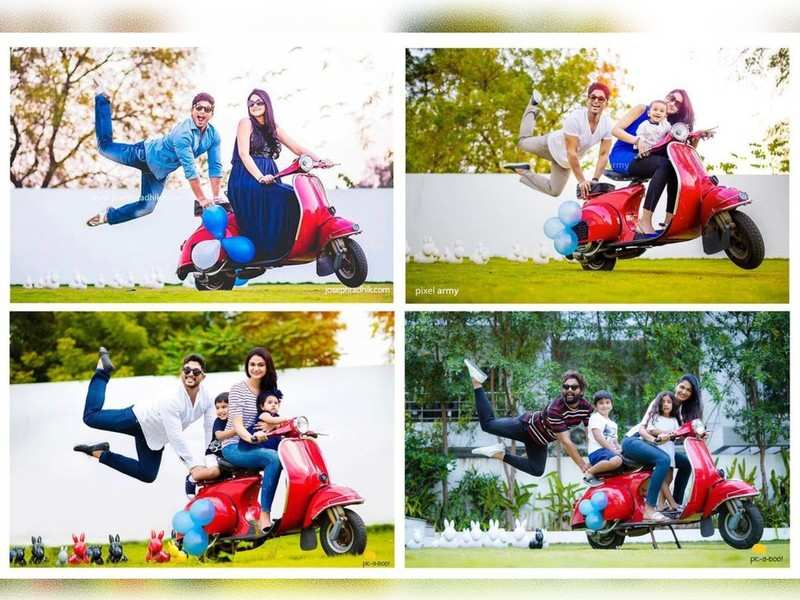 Allu Arjun and Sneha Reddy recreate an adorable photoshoot through the years