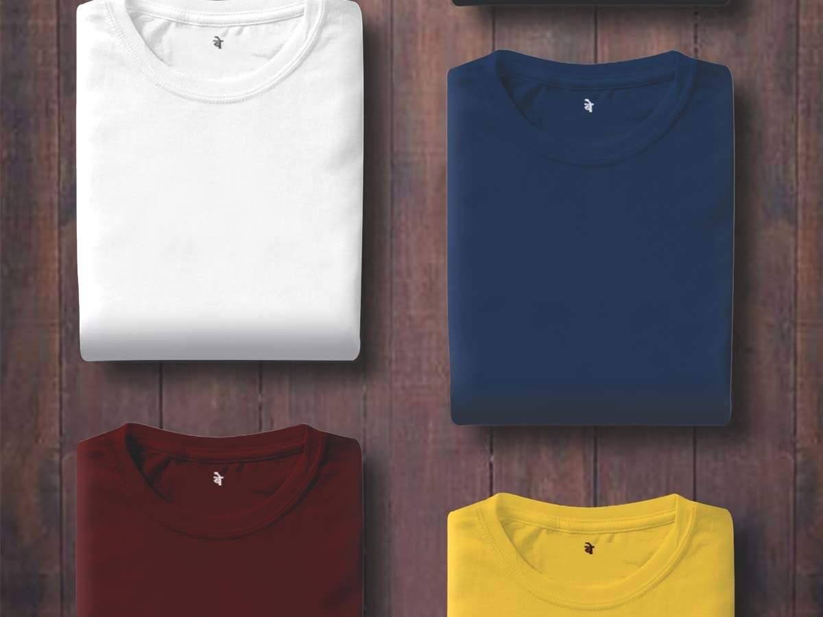 Cotton T Shirts for Summer: Comfortable cotton t-shirts for men for summer  dressing   Most Searched Products - Times of India