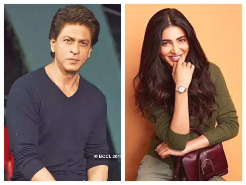 Shruti Haasan has THIS to say to a fan who urged her to work with Shah Rukh Khan in a movie