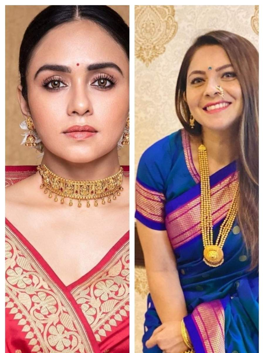 Marathi actresses who stunned in ethnic wear