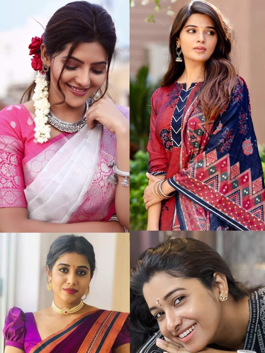 Tamil New Year: Kollywood actresses and their traditional avatars