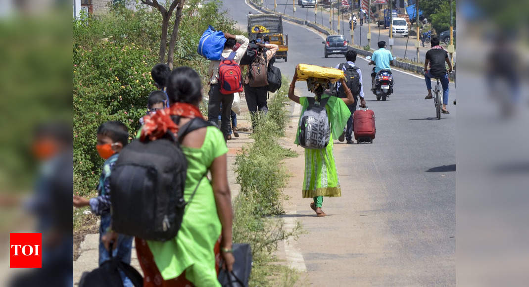 Fear of another lockdown grips migrant labourers of Jharkhand, control room registers sharp jump in distress calls