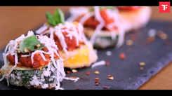 Watch: How to make Zucchini Bruschetta