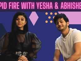 Rapid Fire Round with Hero Gayab Mode On co-stars Yesha Rughani and Abhishek Nigam