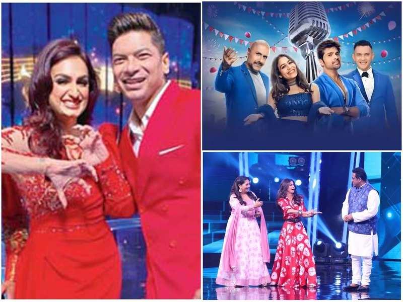 (Akriti Kakar and Shaan in Indian Pro Music League, Aditya Narayan, Vishal Dadlani, Neha Kakar and Himesh Reshammiya in Indian Idol and Geeta Kapur, Shilpa Shetty and Anurag Basu in Super Dancer)