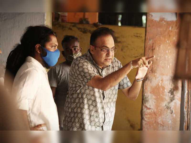 Arindam Sil starts shooting for his dream project, Mahananda