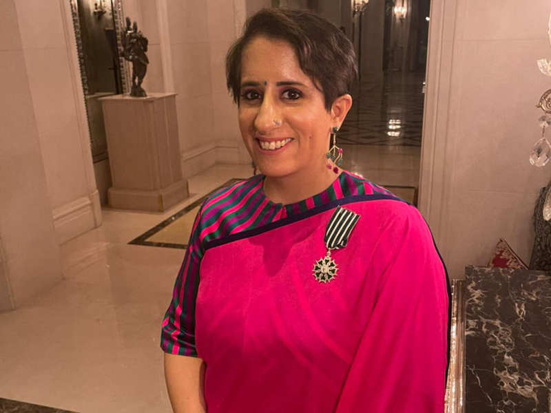 Guneet Monga conferred with the second highest civilian French honour