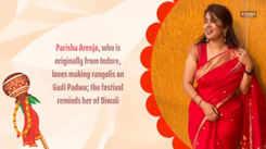 #PunekarChallenge: Find out why Parisha Arenja loves celebrating Gudi Padwa