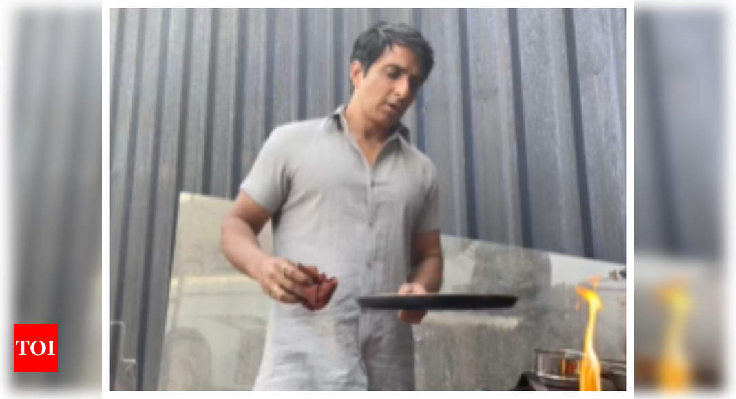 Watch: Sonu Sood's tips to make perfect dosa