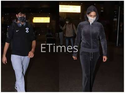 Sara, Ibrahim, Amrita Singh return to Mumbai