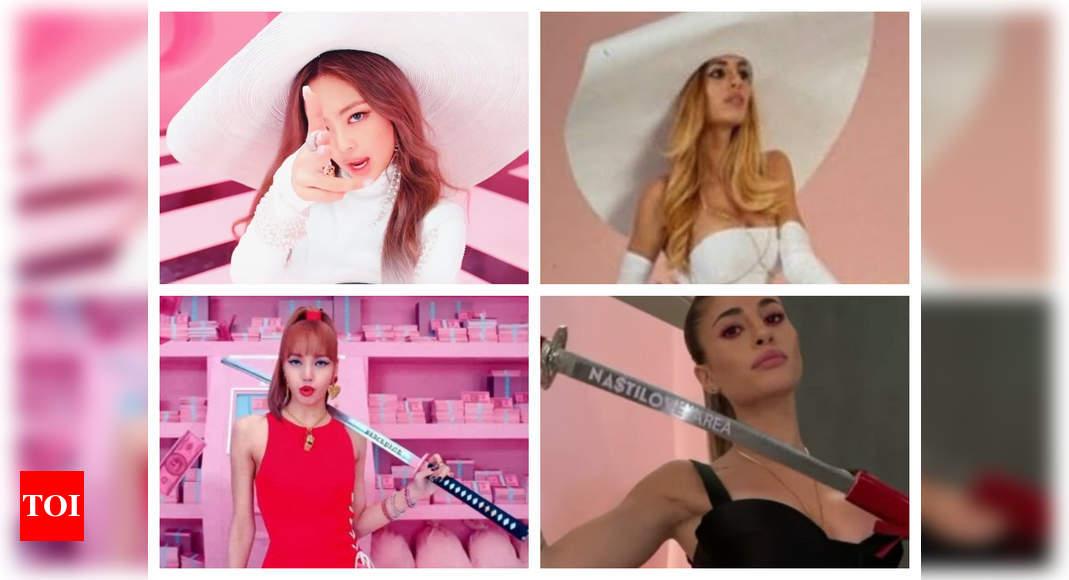 Did Influencer copy BLACKPINK's MV?