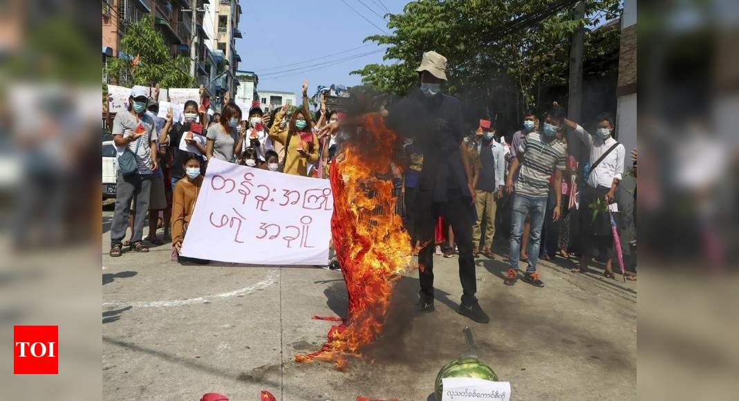 , Myanmar security forces fire on protesting medical workers, The World Live Breaking News Coverage & Updates IN ENGLISH