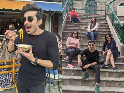 Mohit Sehgal's family trip to Mussoorie
