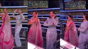Nora Fatehi turns dance guru for Madhuri, videos goes viral
