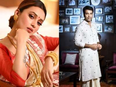 Bengali celebs flaunt their ethnic best
