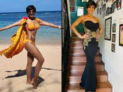 Mandira Bedi is ageing in reverse at 49; pics
