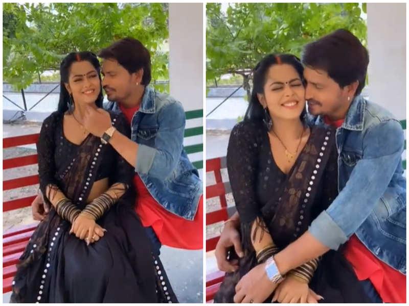 Pravesh Lal Yadav and Richa Dixit recreate Aamir Khan and Rani Mukherjee's song 'Kali Nagin Ke Jaisi'