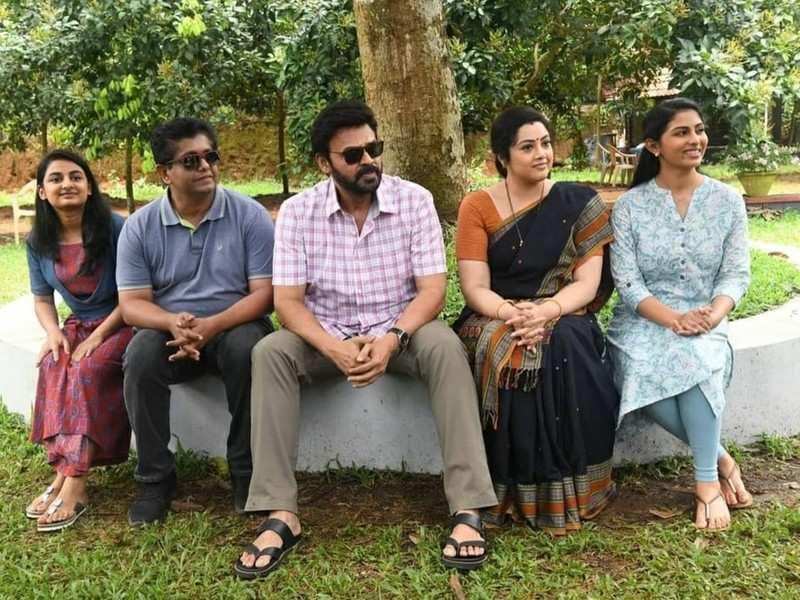 Venkatesh wraps up shooting for Drushyam 2