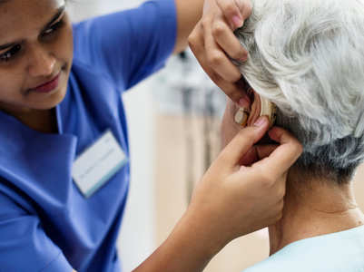 Hearing loss and other unusual symptoms of COVID