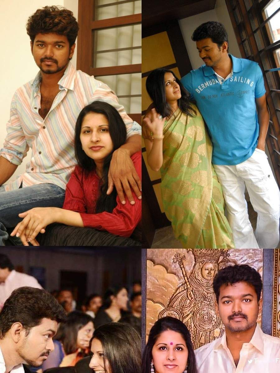 Couple goals! Vijay and his wife Sangeetha's candid pictures