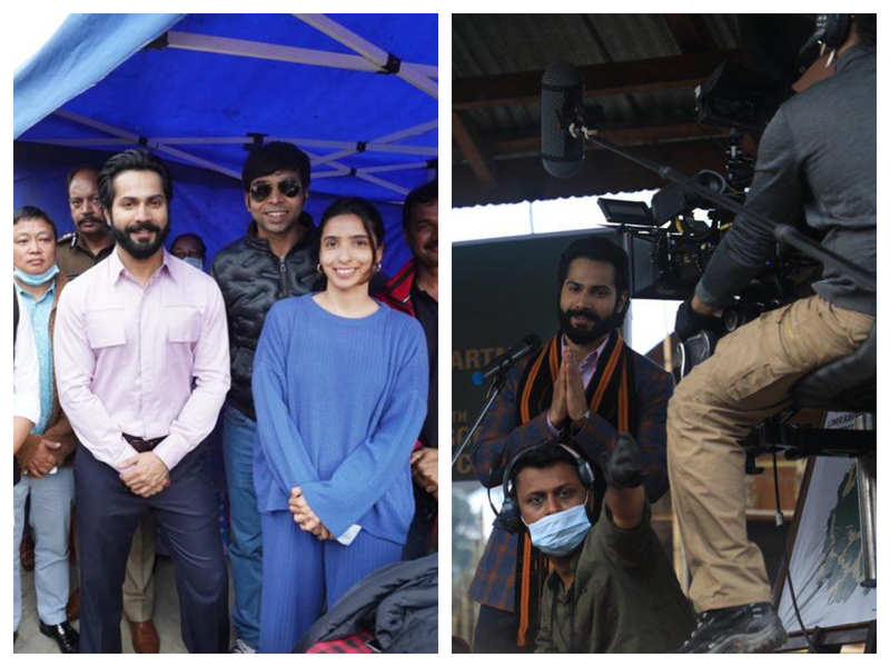 'Bhediya': These unseen pictures of Varun Dhawan from the sets of the film will get you all excited