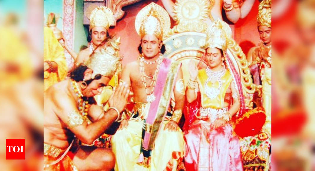 Ramanand Sagar's Ramayan to air once again during lockdown; Dipika Chikhlia who played Sita shares her ex - Times of India