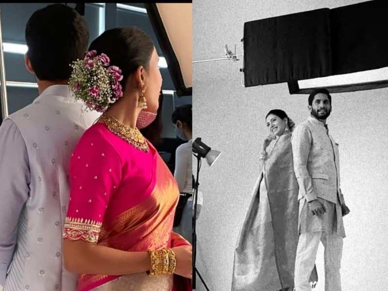 Samantha Akkineni and Naga Chaitanya: Adorable pictures of the power couple shooting together