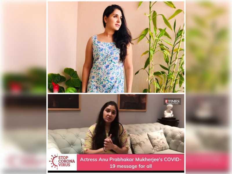 Anu Prabhakar Mukherjee shares Covid-19 prevention message