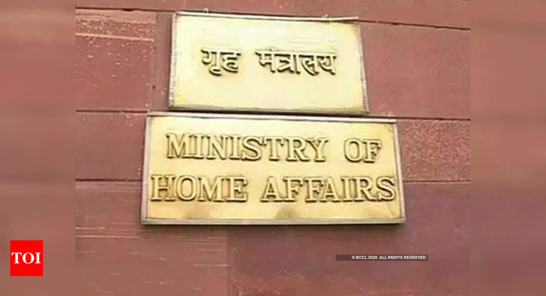 MHA orders 50% attendance in work, staggered timing at its offices | India News – Times of India