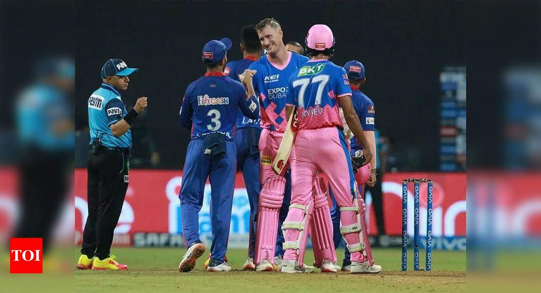 IPL 2021, RR vs DC: Miller's 62 and Morris' unbeaten 36 power Rajasthan Royals to sensational win | Cricket News – Times of India