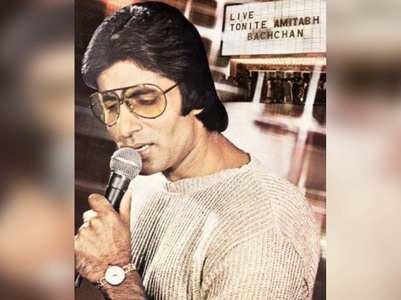 Big B shares a throwback picture