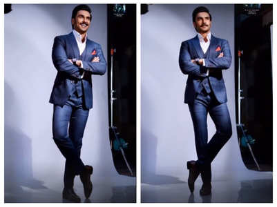 Ranveer Singh suits up for latest photoshoot