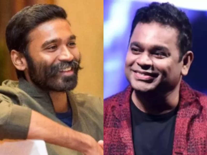 Dhanush wishes AR Rahman on 99 Songs release