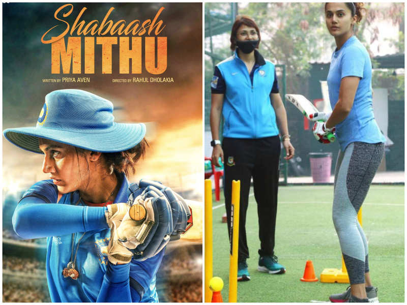 Exclusive! Has the shoot of Taapsee Pannu's cricket film 'Shabaash Mithu' shifted from Mumbai to Hyderabad?