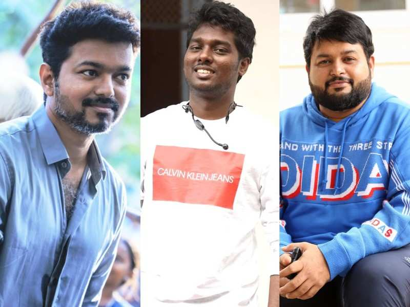 Will Atlee-Vijay-Thaman come together for a film?