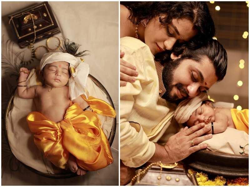 Parvathy Krishna shares adorable pics revealing son Avyukth's face; take a look