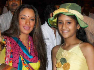 When Shivangi met Rupali at the age of 10