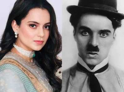 Kangana is all praise for Charlie Chaplin