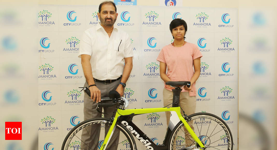 Pune-based cyclist Priyanka Jadhav gets corporate support | More sports News – Times of India