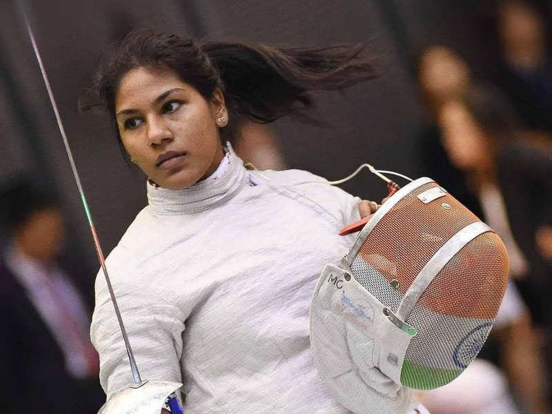 Happy and proud to be an inspiration to girls: fencer Bhavani Devi